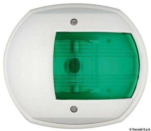 Heckleuchte Maxi 20 Grün/Weiß 12 V Marke Osculati 11.411.12 Sonstige Boote