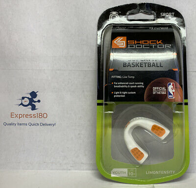 NEW Shock Doctor Superfit Basketball Flavor Fusion Mouthguard Limontensity Youth