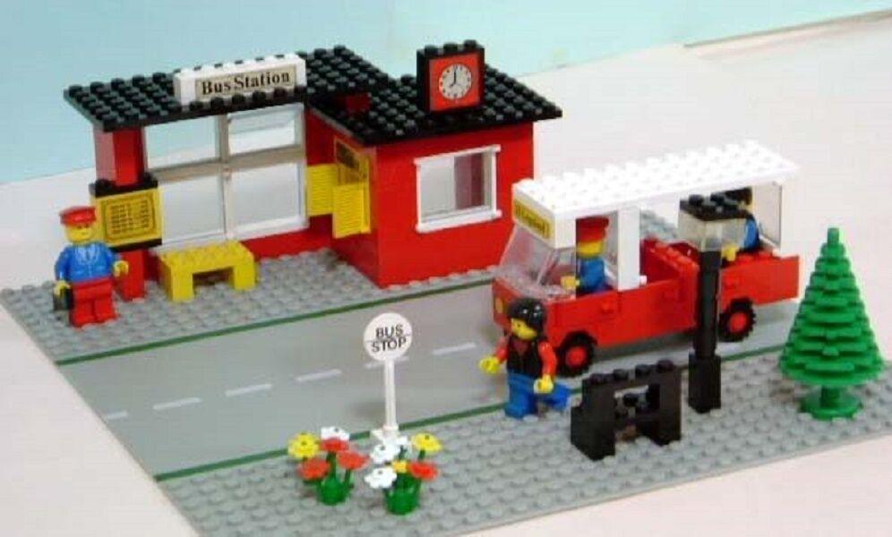 LEGO 379 GARE STRADA / AUTOBUS STAZIONE con istruzioni