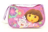 2016 Brand Dora Hand Bag Purse Dora Explorer Girls Small Wallets - Purple