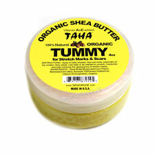 TAHA Organic Shea Butter 100% Natural Tummy for Stretch Marks & Scars 4oz (9545)
