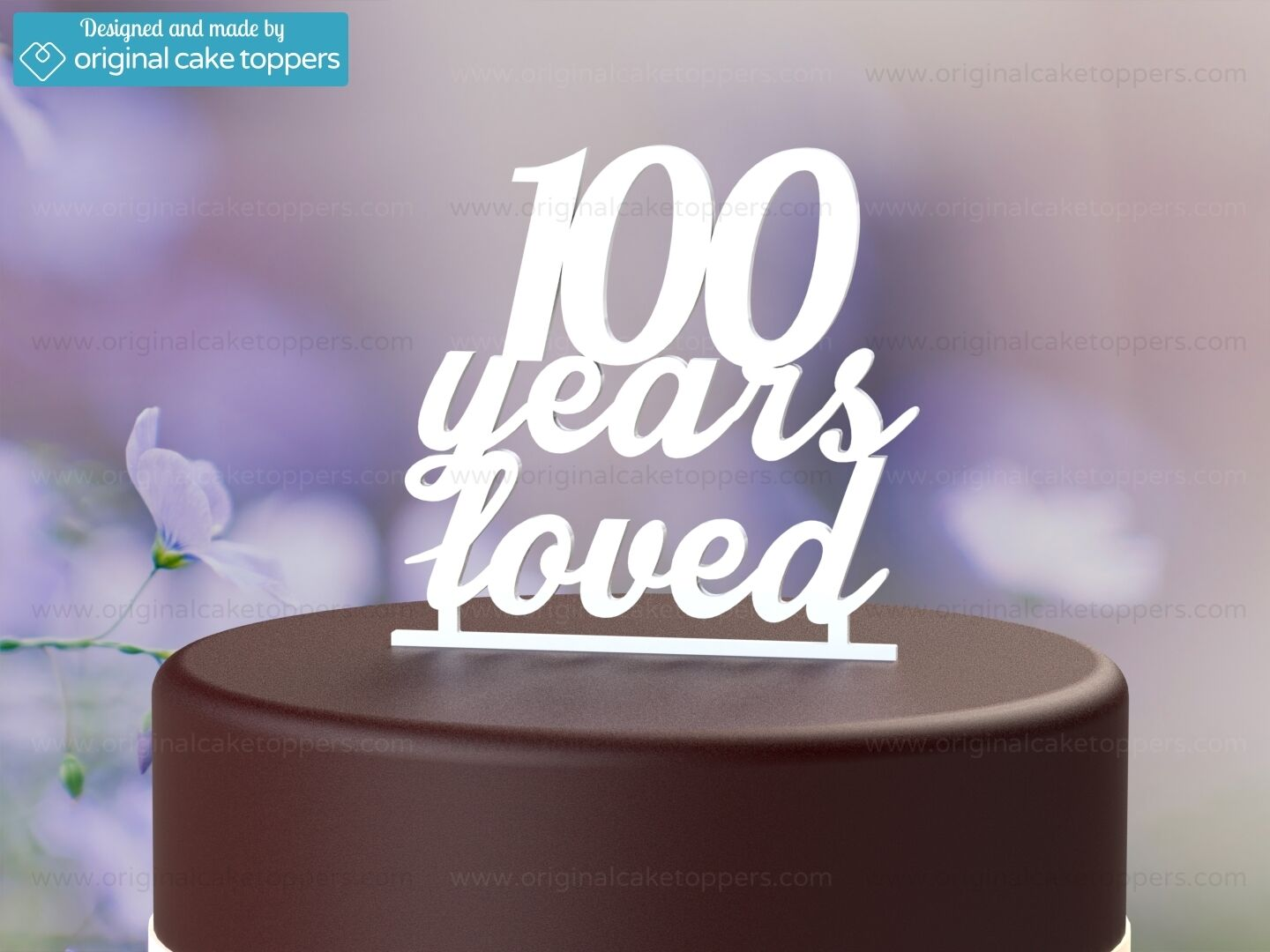 100 Years Loved White