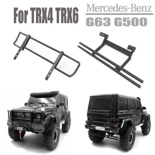 Rear//Front Bumper for Traxxas TRX4 TRX6 Mercedes-Benz G63 G500 RC Crawler Car