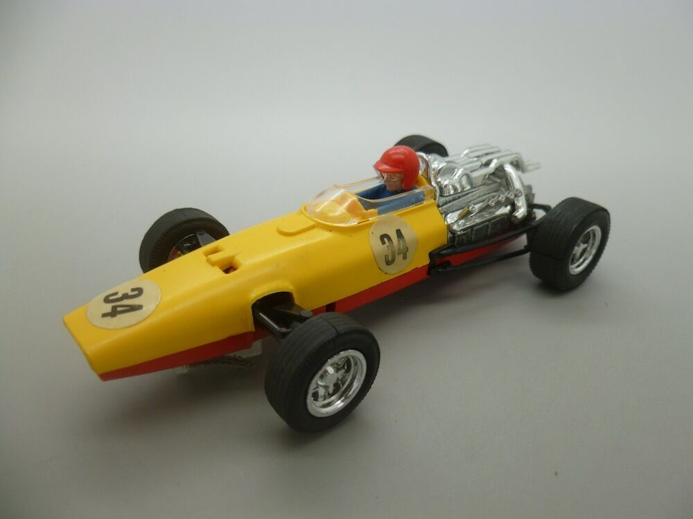 C36 Megga Rare Spanish Honda C36 in Yellow and Red with instructions and Boxed
