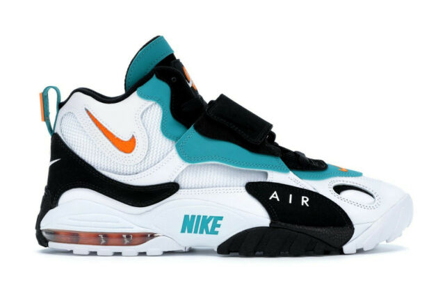 quality design 90c60 fb060 Nike Air Max Speed Turf Miami Dolphins Dan Marino Teal Orange Size 9  525225-100