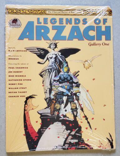 Legends Of Arzach Gallery One Portfolio Tundra R J M Lofficier Moebius sealed