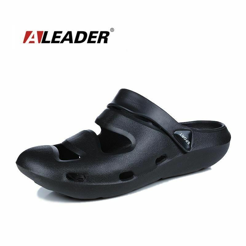 Aleader New Fashion Sandals Men Breathable Casual shoes Soft Eva Cushion Sandals