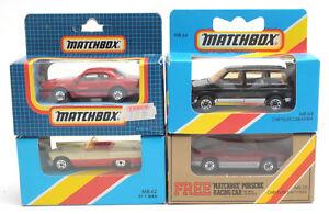 1980s-Matchbox-Superfast-American-Cars-MB42-MB64-MB28-MB61-MIB