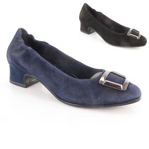 Détails sur Tamaris Escarpins velour Cuir Noir, Bleu Taille 39,40,41 Chaussures Femmes Cuir Neuf afficher le titre d'origine