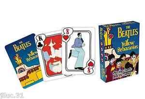 The BEATLES - JEU DE 52 CARTES - 52 photos différentes - cartes à jouer.
