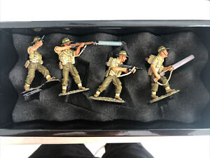 King & Country WW2 Australian Infantry Aussie Patrol EA03 King And Country