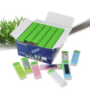 50-pcs-Clean-Double-Headed-Toothpick-Dental-Brush-Teeth-Sticks-Floss-Pick-Oral-T