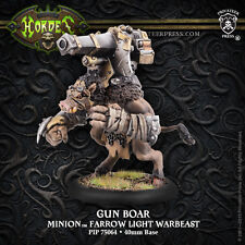 Privateer Press-Hordas-Minions-arma jabalí Farrow Luz Warbeast PIP75064