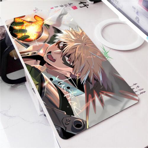 Anime Boku no Hero Academia Mouse Pad Bakugou Katsuki Large Keyboard Game Mat