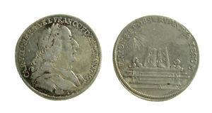 s46-20-Deutsches-Reich-Karl-VII-1742-45-Silberabschlag-1742-Frankfurt-22mm