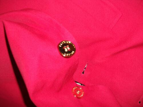 avec Nwt automne taille 4 signature rouge Tahari printemps Manteau ceinturé wBxBYFvf