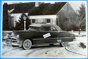 1951-Pontiac-Eight-2-Door-Hardtop-12-X-18-034-Black-amp-White-Picture