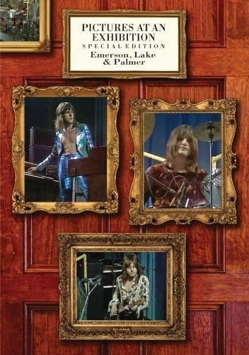 EMERSON, LAKE & PALMER Pictures At An Exhibition DVD NEW Live 1970 NTSC ALL