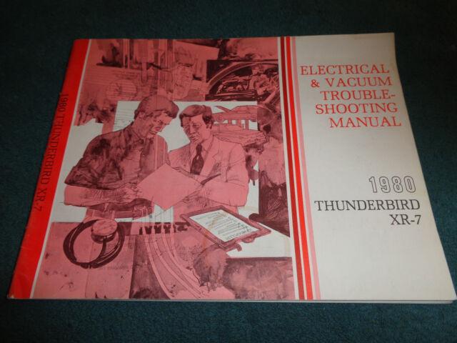1980 FORD THUNDERBIRD / MERCURY XR-7 / WIRING & VACUUM ...
