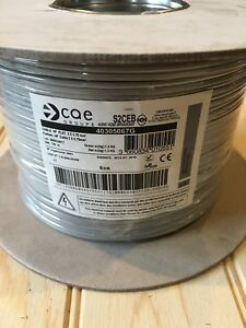 Fil Double 2x0,75mm² Gris/gris Câble Souple Haut-parleur Lampes Coupe De 1a100m