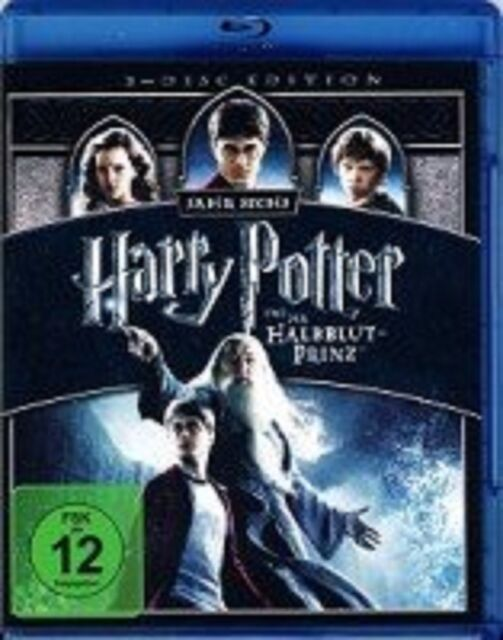 Blu-ray * Harry Potter und der Halbblutprinz (2-Disc Edition) * NEU OVP