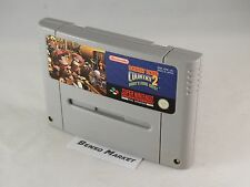 DONKEY KONG COUNTRY 2 DIDDY'S KONG QUEST NINTENDO SNES SUPER NES 16BIT PAL LOOSE