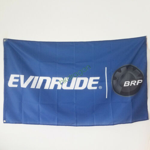 New Racing 3x5ft Banner Flag for EVINRUDE BRP Flag Indoor Outdoor Decor