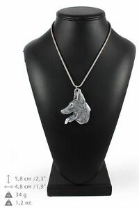 Malinois-silver-plated-pendant-on-the-silver-chain-Art-Dog-IE