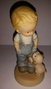 ENESCO-Memories-of-Yesterday-Figurine-I-039-LL-NEVER-LEAVE-YOUR-SIDE-S0108-MEMBER