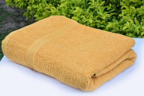 Pack of 2 Bath Sheet 100/% Egyptian Cotton Jumbo Bath Sheet Towels 600 GSM Soft