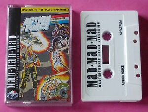 Sinclair-ZX-Spectrum-Mastertronic-ACTION-FORCE-INTERNATIONAL-HEROES-1989-NEW
