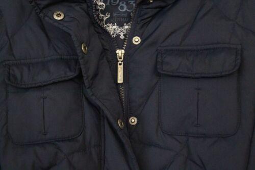 donna invernale Street One Blu Piumino Night da 38 indossato volta Nero Una Blu RnZx1