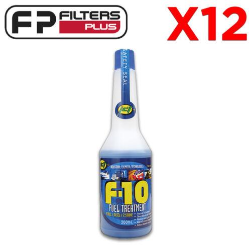 Retail Box 12 X F10-200 Fuel Treatment Removes water Kills Diesel Bug All Fuel