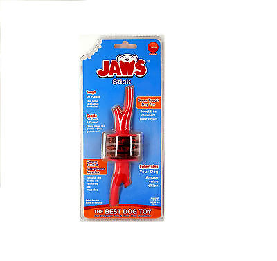 HUGS PET PRODUCTS JAWS STICK TREAT CHEW DOG TOY rawhide dental health durable