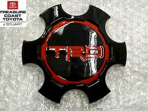 NEW OEM TRD TOYOTA TACOMA 2017-2019 TRD PRO CENTER CAP QTY 1