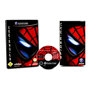 Nintendo-Jeu-Gamecube-Spiderman-Spider-Man-Emballage-D-039-Origine-avec-Manuel