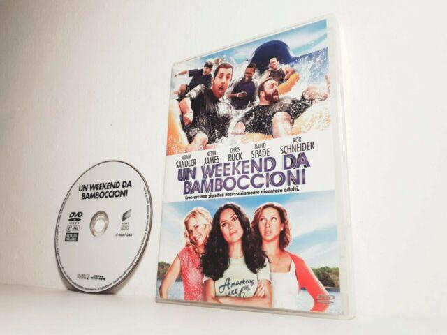 DVD UN WEEKEND DA BAMBOCCIONI Adam Sandler Rock (2010) STAMPA SONY PICTURES