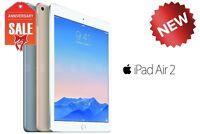 NEW Apple iPad Air 2nd Wi-Fi I 16GB 32GB 64GB or 128GB I GOLD GRAY SILVER