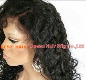 brazilian curly full front lace wigs human hair baby hair