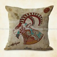 Us Seller, Aries Zodiac Cushion Cover Throw Cushions Online