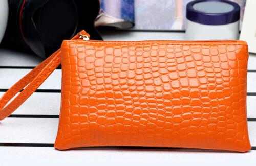 Women Leather Wallet Purse Bag Clutch Bag Handbag Coin Change Bag Solid Gift