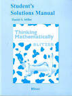 Student Solutions Manual for Thinking Mathematically by Robert F. Blitzer (Paperback, 2010)