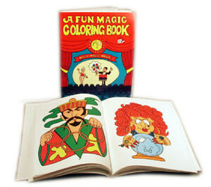 Fun Magic Coloring Book Large 3 Way By