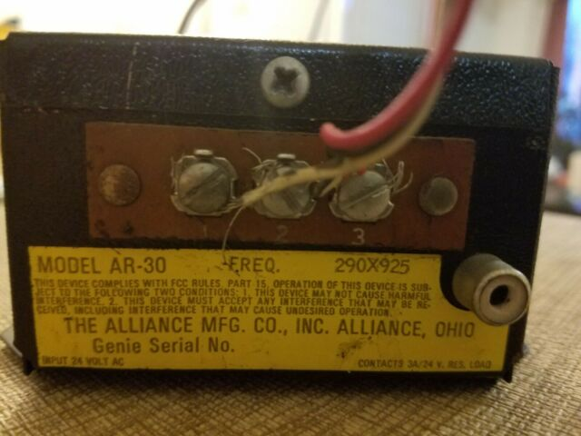 1960 1970 Edco Electronics Genie Remote Controller Model Ar 30 For Sale Online Ebay