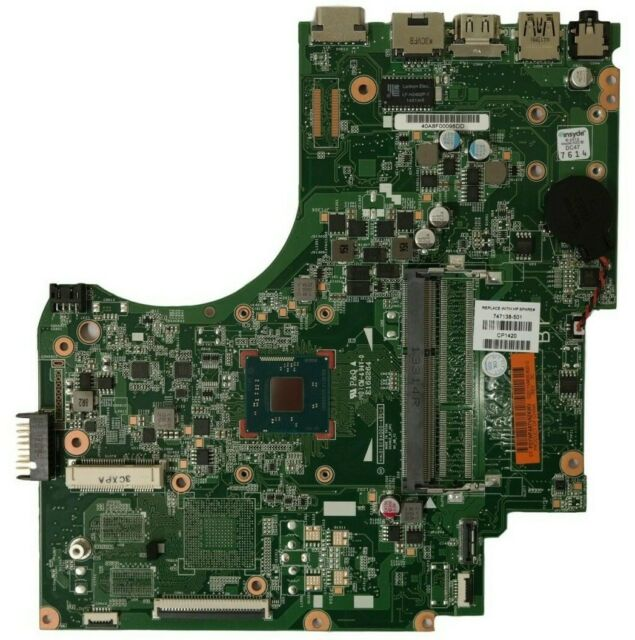 HP 15-D Carte Mère Intel Pentium N3510 747138-501
