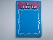 Little Red Riding Hood, Giant 3-D Fairy Tale Book, Rose Art, Puppets, Playmore