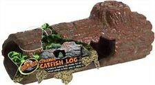 Zoo Med Sinking Catfish Aquarium Fish Ceramic Log Ornament Decoration