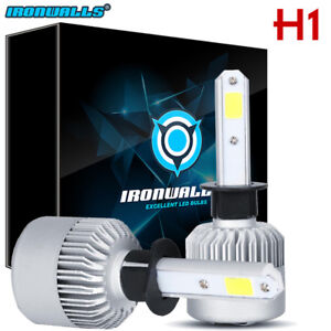 H1 LED Headlight Conversion Kit 1500W 225000LM Hi Lo Beam Bulbs White 6000K HID