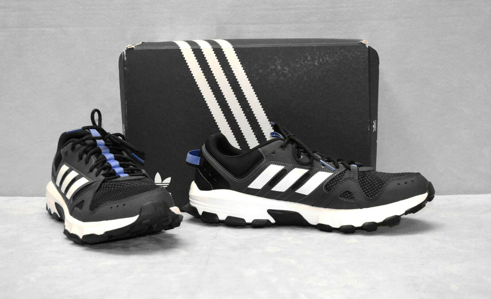 B5 NEW ADIDAS Men's Rockadia Ortholite Footbed Trail Running Sneaker Shoes Sz 12