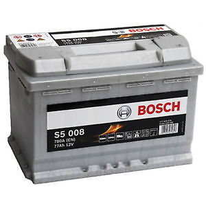bosch s5 008 heavy duty calcium battery s5008 e44 096 type 77ah ebay. Black Bedroom Furniture Sets. Home Design Ideas